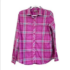 The North Face Baylyn Plaid Button Shirt